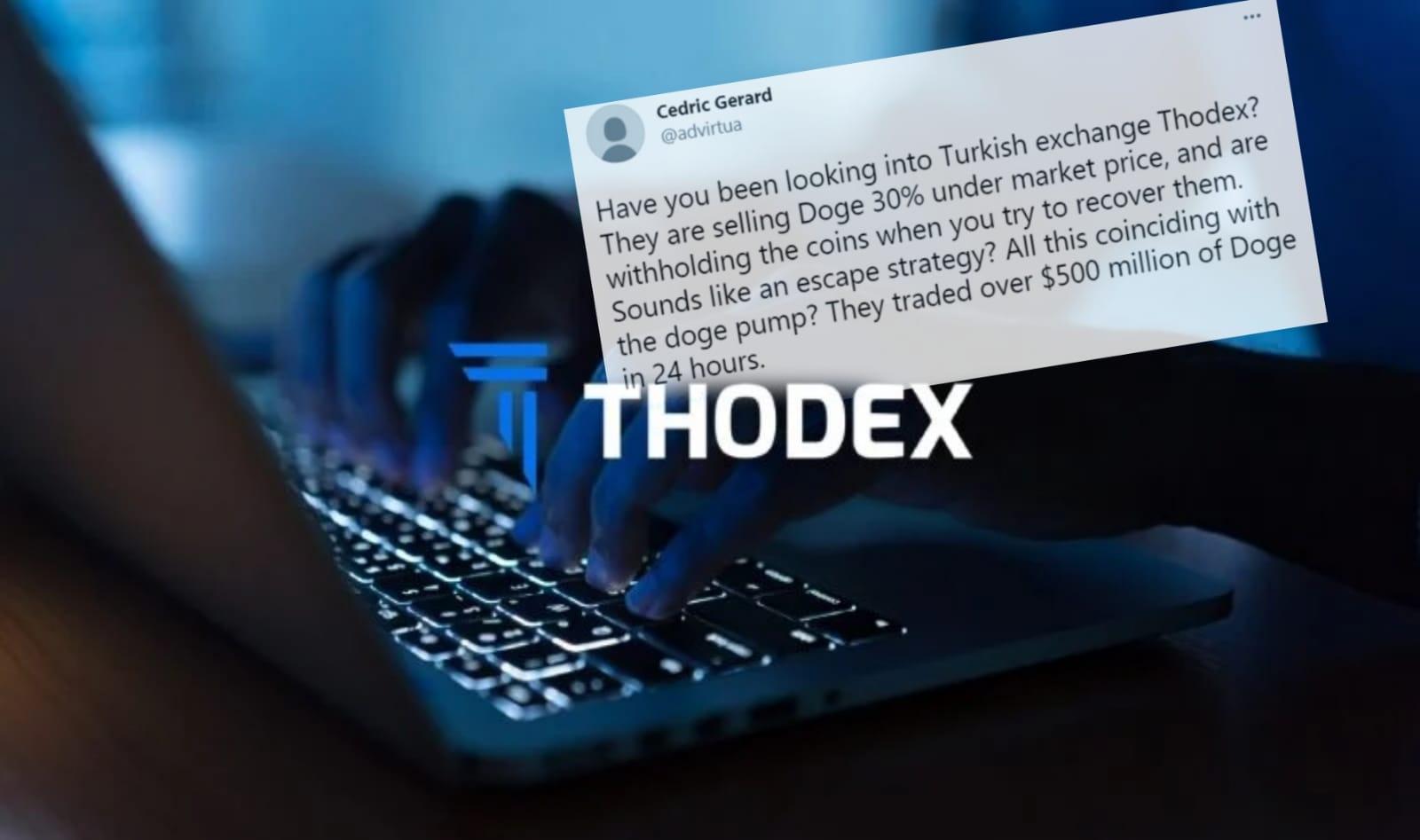 Thodex'te olacakları adeta üç gün öncesinde yazmış