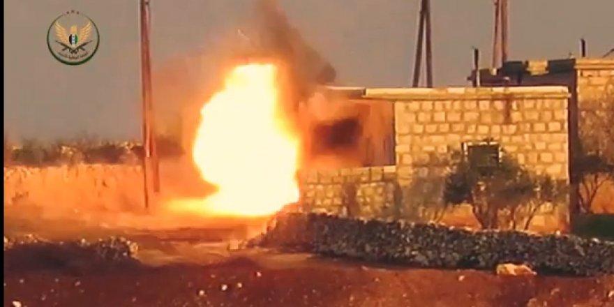 Rejim Askerlerine Operasyon Anı Kamerada