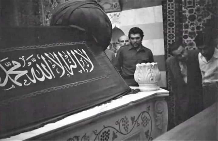 Che Guevara Selahhadin Eyyubi'nin Mezarında