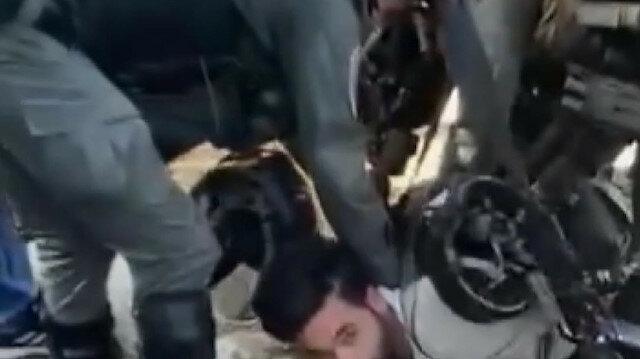 İşgalci İsrail, Kudüs'te 7 ailenin tahliyesini protesto eden Filistinlileri gözaltına aldı