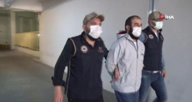 İstanbul'da yakalanan DEAŞ'ın kilit ismi tutuklama istemiyle mahkemeye sevk edildi