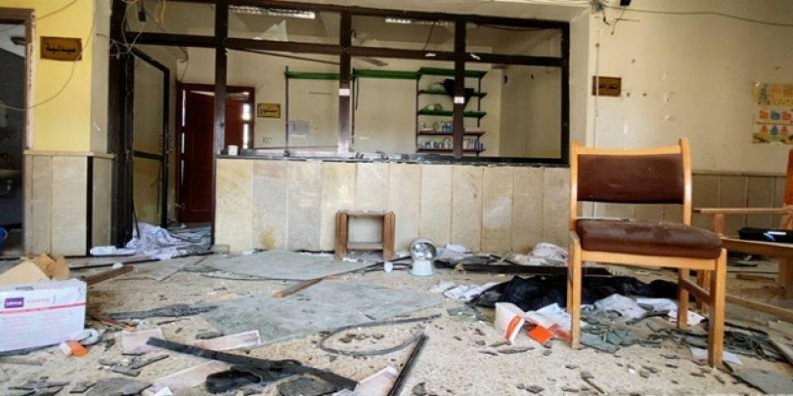 Esed Rejimi Hastaneleri Hedef Almayı Sürdürüyor