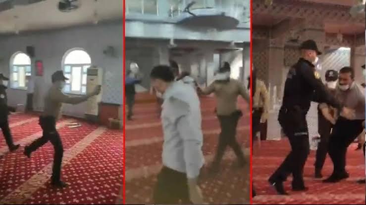 Valilikten açıklama gedi: Camide biber gazı sıkan bekçi açığa alındı