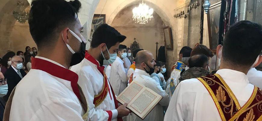 Mardin'de Süryani halk 'Paskalya'yı kutladı