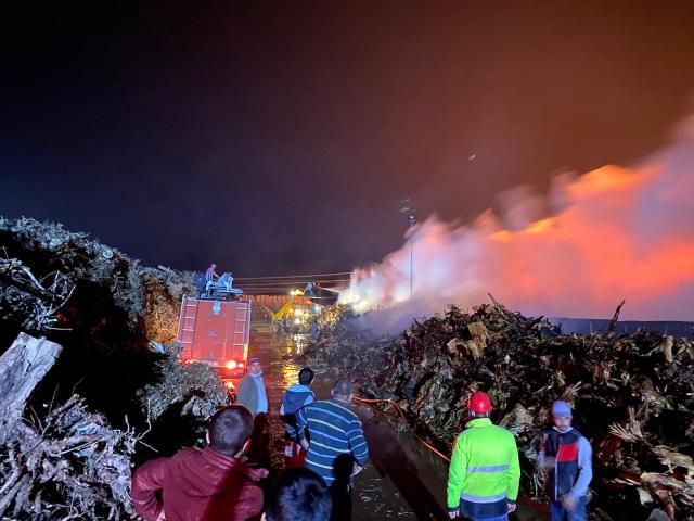 Afyonkarahisar'da yangın 80 bin metrekarelik alana yayıldı
