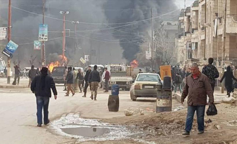 Afrin'de iftar öncesi terör saldırısı: 5 çocuk yaralandı