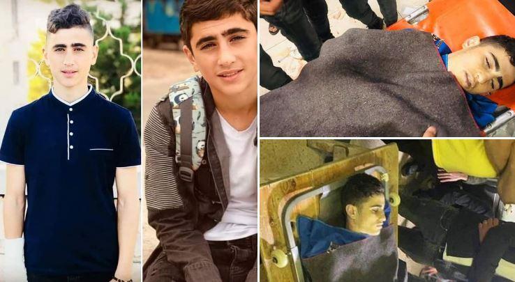 İşgalci İsrail askerleri 14 yaşındaki çocuğu vurarak katletti
