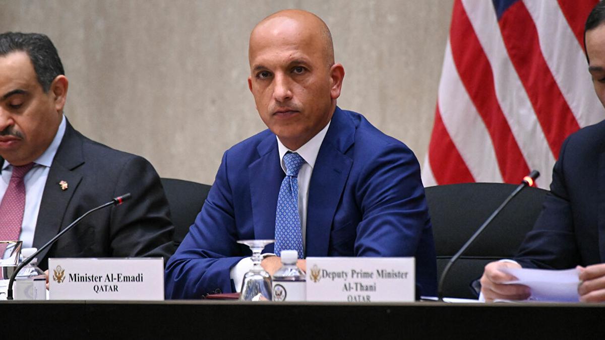 Katar Maliye Bakanı gözaltına alındı