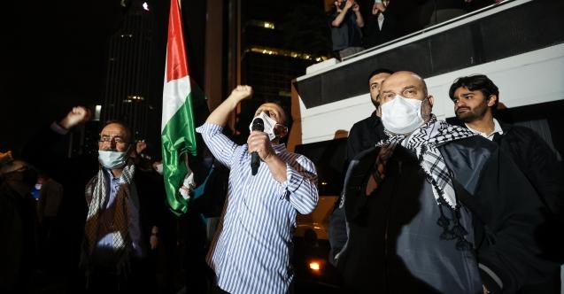 İsrail'in Mescid-i Aksa saldırısı protesto edildi