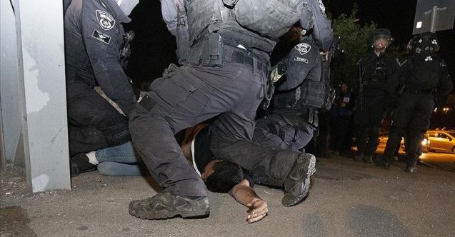Kudüs'te 700 kişi gözaltına alındı