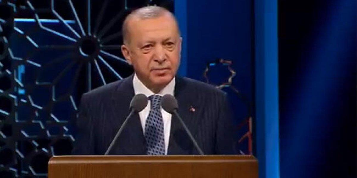 Cumhurbaşkanı Erdoğan: İslam düşmanlığı koronavirüs kadar tehlikeli bir virüstür