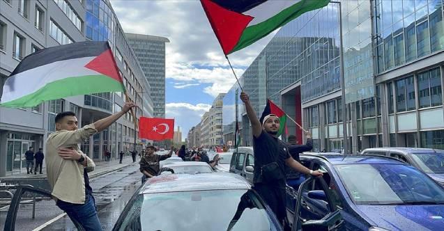 Avrupa'da İsrail protestoları devam ediyor