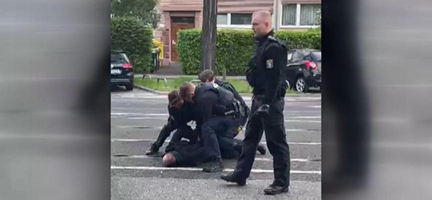 Alman polisi Türk vatandaşı Selim Çiftçi'yi ailesinin gözü önünde darbetti