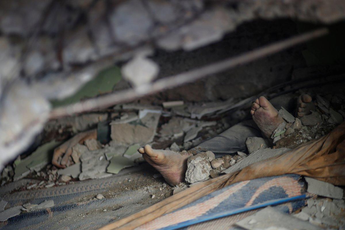 İsrail'in Filistin'e yönelik saldırısının 8 günlük bilançosu