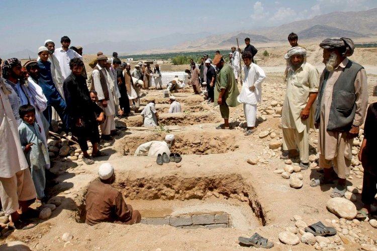 Afganistan'da iç savaşta 100 Bin İnsan Öldü