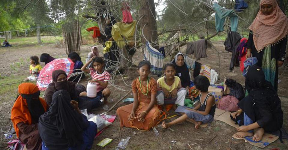 Myanmar'dan Kaçan Arakanlı Müslümanlar, Endonezya'ya Ulaştı