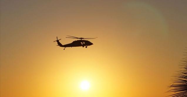 Afganistan'da Taliban askeri helikopteri düşürdü