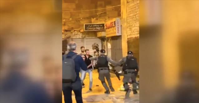 İsrail polisi yine sivillere saldırdı