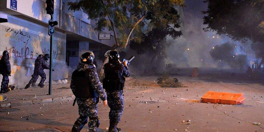 Lübnan'daki Gösterilerde 35 Kişi Yaralandı