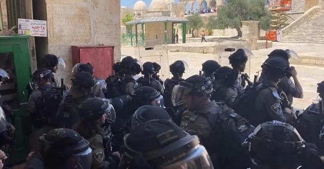 İsrail polisinden Hz. Muhammed'e hakareti protesto edenlere saldırı