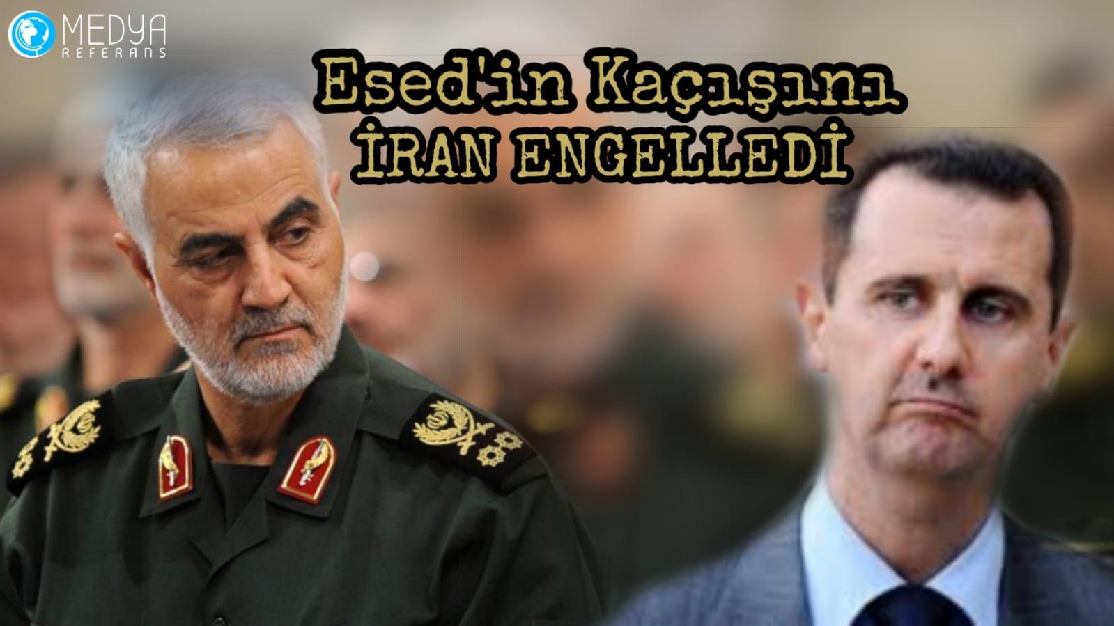 Esed'in Kaçışını İran Engelledi
