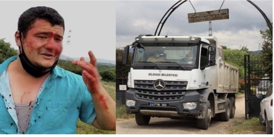 İP'li Lütfü Türkkan'ın kaçak binalarının yıkımını görüntüleyen gazeteci darp edildi!