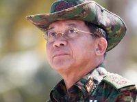 Myanmar'daki darbenin lideri Hlaing: 'İçişlerimize karışmayın'