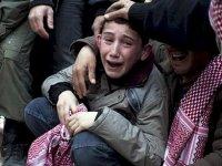 Mülteci kampında dehşet; 4 çocuk yanarak can verdi
