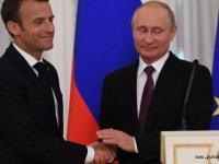 Putin ve Macron Libya konusunda hemfikir