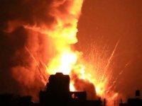 İsrail Filistinlilere ait ekinleri bombaladı