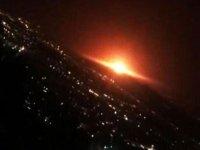 İran'ın füze deposunda patlama