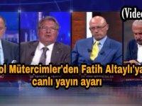 Erol Mütercimler'den Fatih Altaylı'ya canlı yayın ayarı