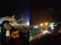 Hindistan'da yolcu uçağı iniş esnasında ikiye bölündü