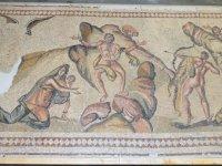 Suriye'den kaçırılan antik mozaik Kaliforniya'da ortaya çıktı