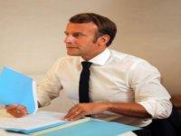 Macron'dan örtülü tehdit açıklaması