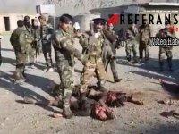 Afgan askerlerden görülmemiş vahşet