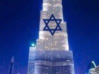 BAE'de Burç Halife binası İsrail bayrağına büründü mü ?
