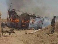 Amerikan savaş uçakları Esed birliğini bombaladı.