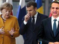 Angela Merkel: Yunanistan'ın yanındayız