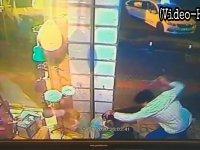 Bursa'da her saniyesi kaydedilen korkunç cinayet (Video Haber)