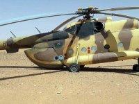 Hafter milisleri helikopteri bırakıp kaçtı