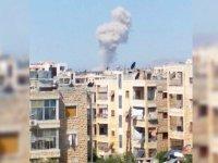 Rus uçakları İdlib'i vuruyor