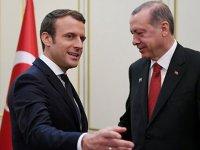 Erdoğan ve Macron görüştü: Sorunların çözümü masada