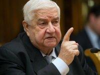 Suriye Dışişleri Bakanı: Türkiye terör sponsoru!