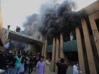 Bağdat'ta gerginlik: KDP binası ateşe verildi
