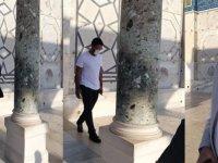 Filistinliler, Mescid-i Aksa'ya İsrail koruması altında giren BAE heyetini kovdu