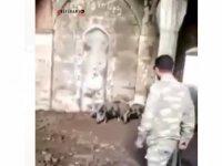 Ermeni işgalciler Zengilan'da camiyi domuz ahırına çevirdi (Video Haber)