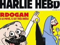 Charlie Hebdo'dan yeni provokasyon: Son sayısında Erdoğan'ı hedef aldı