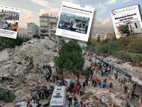 Dünya basınında İzmir depremi geniş yer buldu