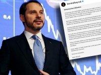 Berat Albayrak, Hazine ve Maliye Bakanlığı görevinden istifa etti!